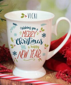 Personalised Christmas Marquee Mugs