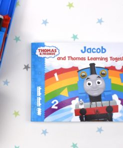 Me and Thomas Learning Together Personalised Book